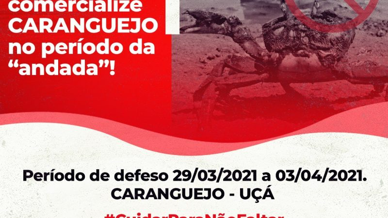 Período de Defeso do Caranguejo-uçá